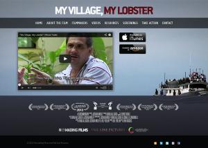 My Village, My Lobster Website