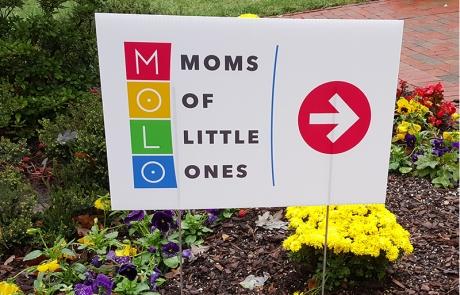 MOLO Yard Sign