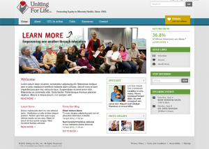 UFL Website Mockup